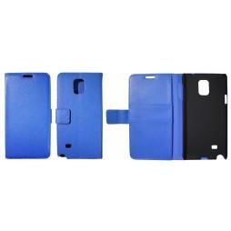 Samsung Galaxy Note 4 - Preklopna torbica (WL) - modra
