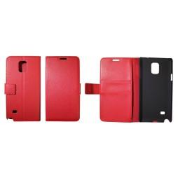 Samsung Galaxy Note 4 - Preklopna torbica (WL) - rdeča