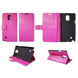 Samsung Galaxy Note 4 - Preklopna torbica (WL) - roza
