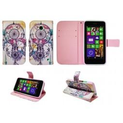 Nokia Lumia 630/635 - Preklopna torbica (WLGP) - Dreamcatcher
