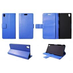Sony Xperia Z3 - Preklopna torbica (WL) - modra