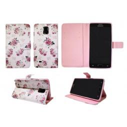 Samsung Galaxy Note 4 - Preklopna torbica (WLGP) - Flowers