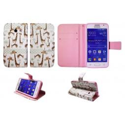 Samsung Galaxy Core 2 - Preklopna torbica (WLGP) - Giraffe