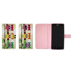 Samsung Galaxy Note 4 - Preklopna torbica (WLGP) - Owls