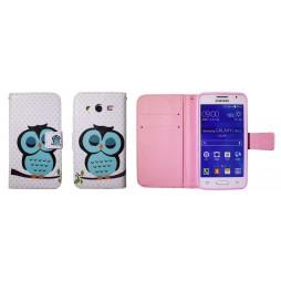 Samsung Galaxy Core 2 - Preklopna torbica (WLGP) - Blue owl