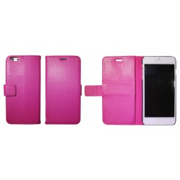Apple iPhone 6 Plus/6S Plus - Preklopna torbica (WL) - roza