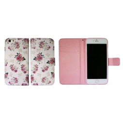Apple iPhone 6Plus/6SPlus - Preklopna torbica (WLGP) - Flowers