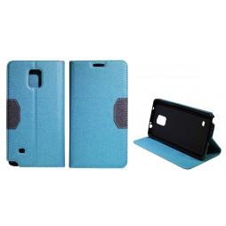 Samsung Galaxy Note 4 - Preklopna torbica (47G) - turkizna
