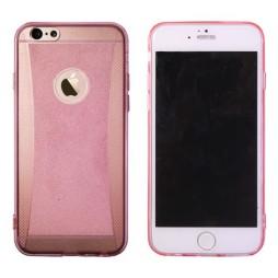 Apple iPhone 6/6S - Gumiran ovitek (19) - roza