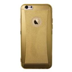 Apple iPhone 6/6S - Gumiran ovitek (19) - zlat