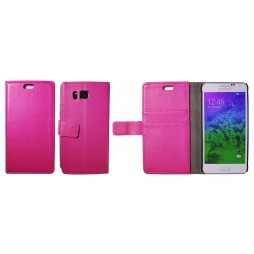 Samsung Galaxy Alpha - Preklopna torbica (WL) - roza