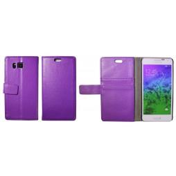 Samsung Galaxy Alpha - Preklopna torbica (WL) - vijolična