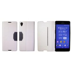 Sony Xperia Z3 - Preklopna torbica (47G) - bela