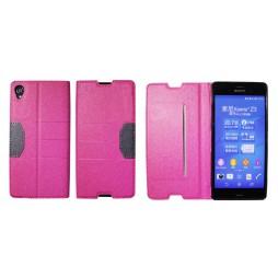 Sony Xperia Z3 - Preklopna torbica (47G) - roza