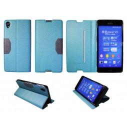 Sony Xperia Z3 - Preklopna torbica (47G) - turkizna