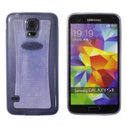 Samsung Galaxy S5/S5 Neo - Gumiran ovitek (19) - moder