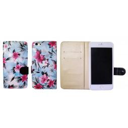Apple iPhone 6/6S - Preklopna torbica (64) - modra