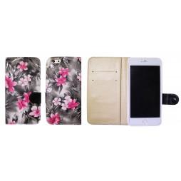 Apple iPhone 6Plus/6SPlus - Preklopna torbica (64) - črna