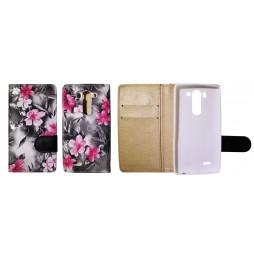 LG G3 S - Preklopna torbica (64) - črna