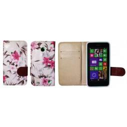 Nokia Lumia 630/635 - Preklopna torbica (64) - bela