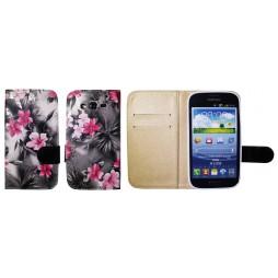 Samsung Galaxy Grand/Grand Neo - Preklopna torbica (64) - črna