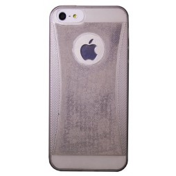 Apple iPhone 5/5S/SE - Gumiran ovitek (19) - siv