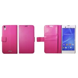 Sony Xperia T3 - Preklopna torbica (WL) - roza