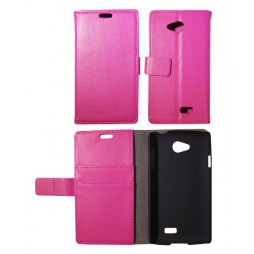 LG F60 - Preklopna torbica (WL) - roza