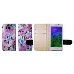 Samsung Galaxy Alpha - Preklopna torbica (64) - vijolična