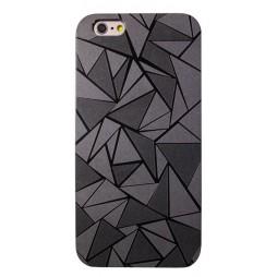 Apple iPhone 6Plus/6SPlus - Okrasni pokrovček (44) - črn