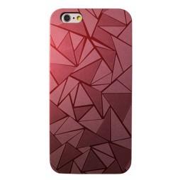Apple iPhone 6Plus/6SPlus - Okrasni pokrovček (44) - rdeč