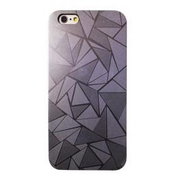Apple iPhone 6Plus/6SPlus - Okrasni pokrovček (44) - srebrn