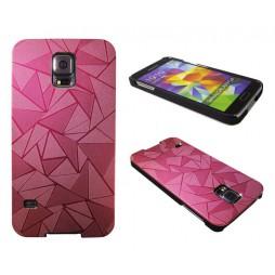 Samsung Galaxy S5/S5 Neo - Okrasni pokrovček (44) - rdeč