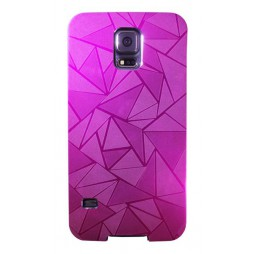 Samsung Galaxy S5/S5 Neo - Okrasni pokrovček (44) - vijoličen