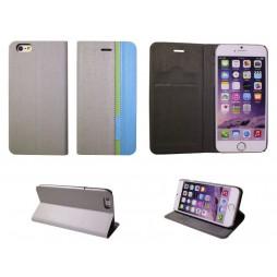 Apple iPhone 6/6S - Preklopna torbica (66) - siva
