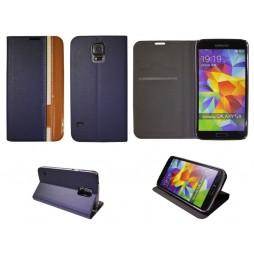 Samsung Galaxy S5/S5 Neo - Preklopna torbica (66) - modra