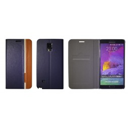 Samsung Galaxy Note 4 - Preklopna torbica (66) - modra
