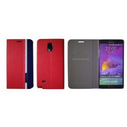Samsung Galaxy Note 4 - Preklopna torbica (66) - rdeča