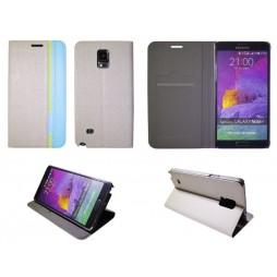 Samsung Galaxy Note 4 - Preklopna torbica (66) - siva
