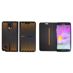 Samsung Galaxy Note 4 - Preklopna torbica (69) - oranžna