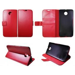 Motorola Nexus 6 - Preklopna torbica (WL) - rdeča