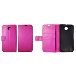 Motorola Nexus 6 - Preklopna torbica (WL) - roza