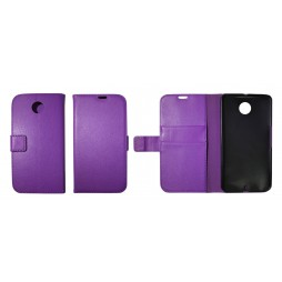 Motorola Nexus 6 - Preklopna torbica (WL) - vijolična