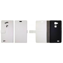 Huawei Mate 7 - Preklopna torbica (WL) - bela