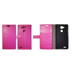 Huawei Mate 7 - Preklopna torbica (WL) - roza