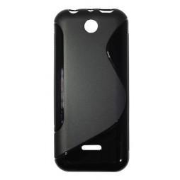 Nokia 225 - Gumiran ovitek (TPU) - črn SLine
