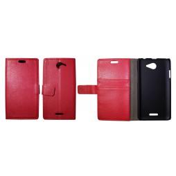 HTC Desire 516 - Preklopna torbica (WL) - rdeča