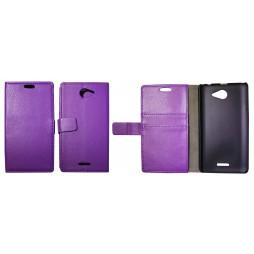 HTC Desire 516 - Preklopna torbica (WL) - vijolična