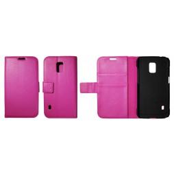 Samsung Galaxy S5 Active - Preklopna torbica (WL) - roza