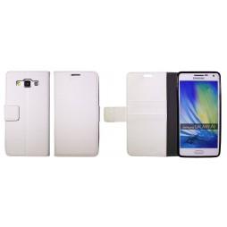 Samsung Galaxy A5 - Preklopna torbica (WLG) - bela